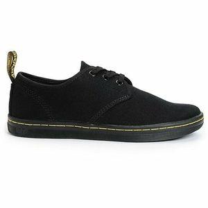 Dr. Martens Soho Black Canvas Shoes US Women's 6